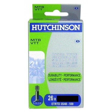 Cámara Hutchinson 26 X 1.7-2.35 Presta