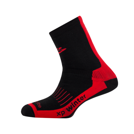 Calcetines Spiuk XP Winter Negro/Rojo