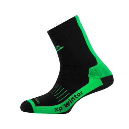 Calcetines Spiuk XP Winter Negro/Verde