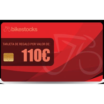 Tarjeta regalo Bikestocks 110€