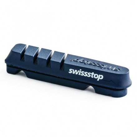 Kit 4 zapatas SwissTop Flash Azul aluminio