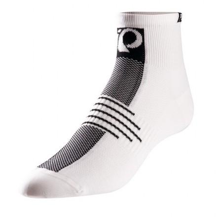 Calcetines Pearl Izumi Bajos Elite Blanco