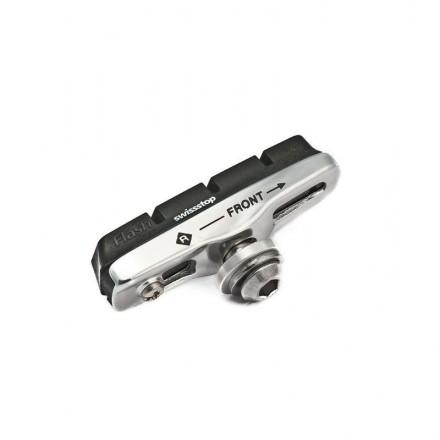 Kit 2 portazapatas SwissTop Flash Pro Negro aluminio