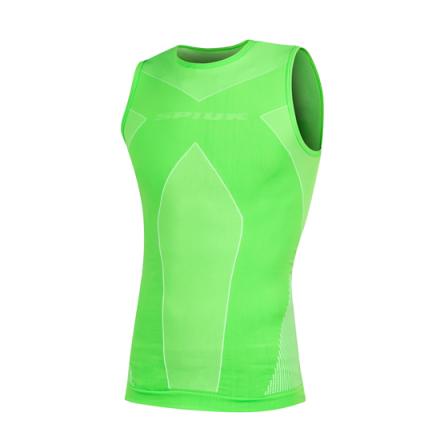 Camiseta S/M SPIUK Top Ten Winter Verde