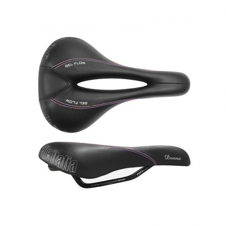SILLIN SELLE ITALIA DONNA GEL TM FLOW NEGRO