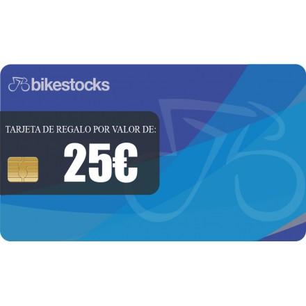 Tarjeta regalo Bikestocks 25€