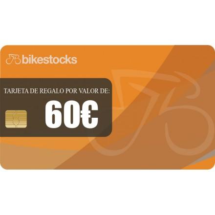 Tarjeta regalo Bikestocks 60€