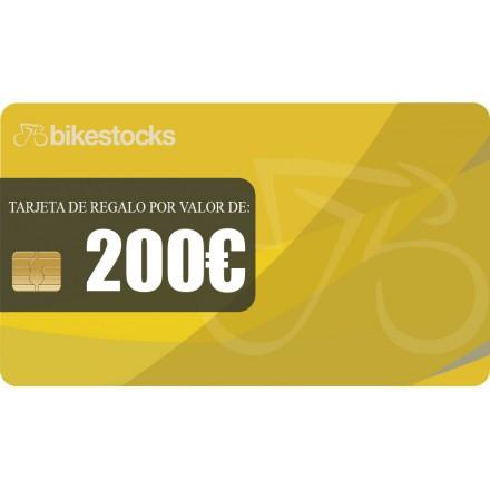 Tarjeta regalo Bikestocks 200€