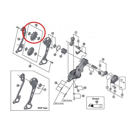 Rulinas Cambio Shimano XT 11D