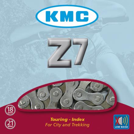 CADENA KMC Z7 MARRON 7 VELOCIDADES