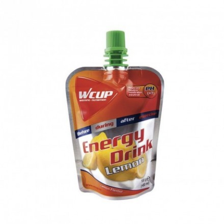 BEBIDA ENERGY DRINK WCUP 20 unidades 80ml LIMON