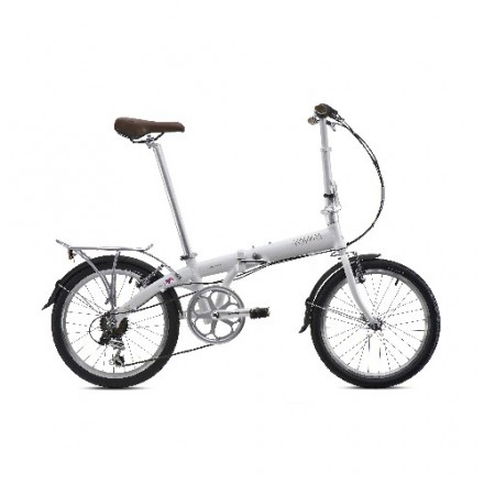BICICLETA PLEGABLE BICKERTON JUNCTION 1307 COUNTRY PEARL WHITE