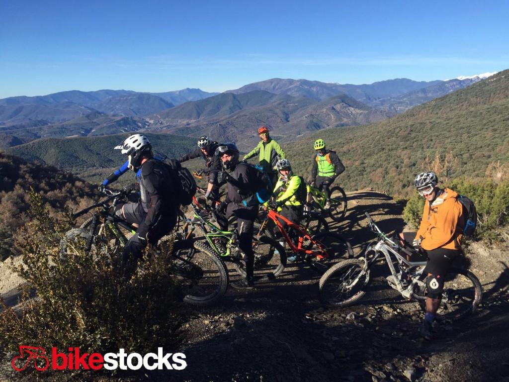 bikestocks en zona zero ainsa