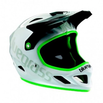 Casco Bluegrass Explicit Blanco/Verde