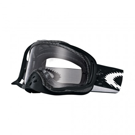 MASCARA OAKLEY CROWBAR (CARBON FIBER/CLEAR)