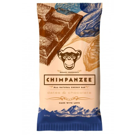 Barrita Chimpanzee Datiles/Chocolate 55gr