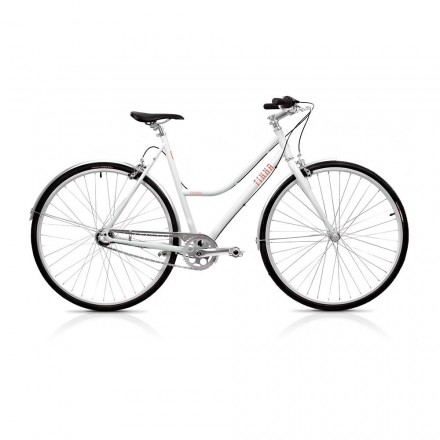 Bicicleta Finna Breeze Pearl White