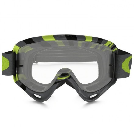 MASCARA OAKLEY O-FRAME (RPM GUN METAL/GREEN)