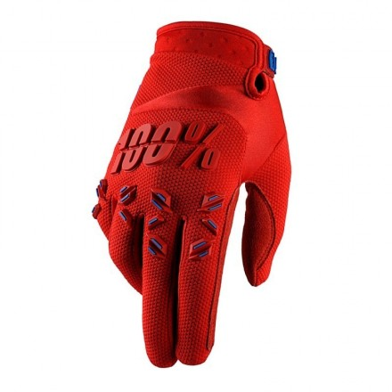 GUANTES 100% AIRMATIC (FIRE RED)