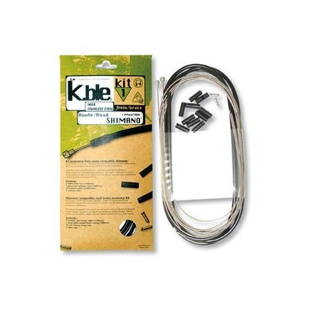 k.BLE KIT CABLE FRENO SHIMANO CARRETERA
