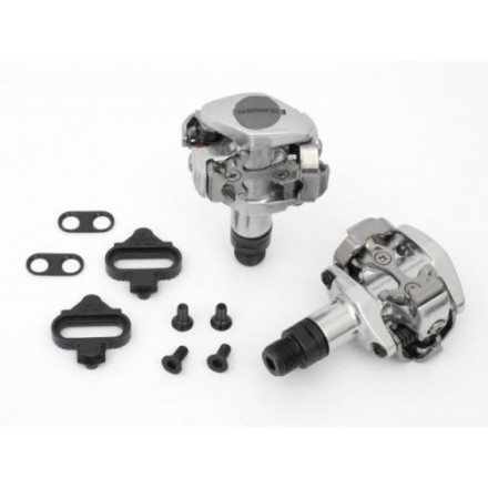 Pedales Shimano PD-M505 Plata