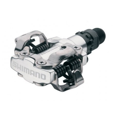 Pedales Shimano PD-M520 Plata