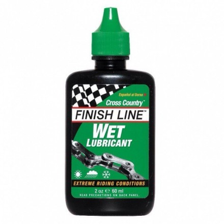 Lubricante Finish Line Cross Country Húmedo 60ml