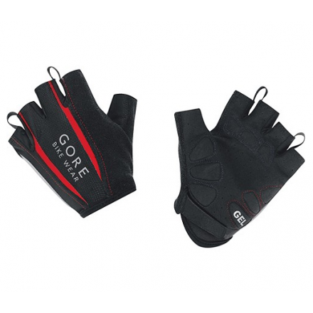 Guantes Cortos Gore Power SO Negro/Rojo