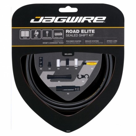 KIT SELLADO ELITE CAMBIO Y FRENO JAGWIRE CARRETERA SRAM/SHIMANO