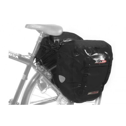 Juego Alforjas Massi CM 227 DOBLE IMPERMEABLE