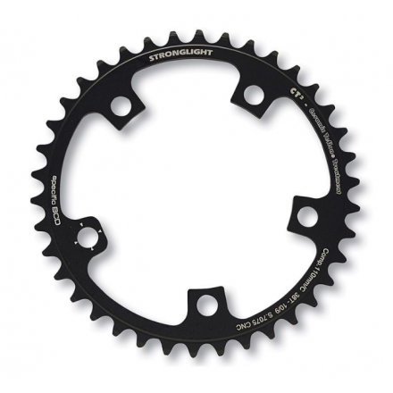 PLATO STRONGLIGHT CT2 COMPACT CAMPAGNOLO 50D Negro