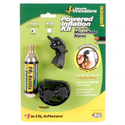KIT INFLADO GENUINE INNOVATIONS POWERED 16gr
