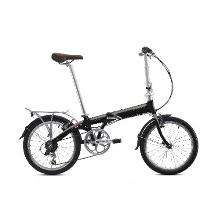 BICICLETA PLEGABLE BICKERTON JUNCTION 1307 COUNTRY MR-RAVEN BLACK