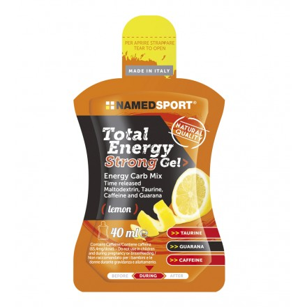 GEL NAMEDSPORT TOTAL ENERGY STRONG 40ML
