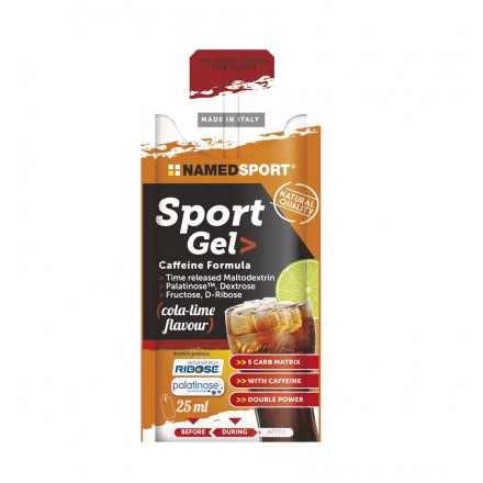 GEL NAMEDSPORT SPORT CAFFEINE FORMULA 25ML
