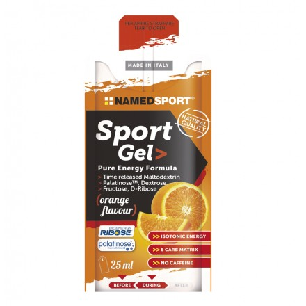 GEL NAMEDSPORT SPORT PURE ENERGY FORMULA 25ML