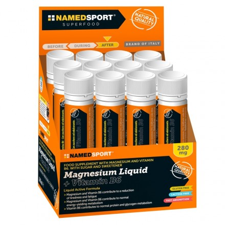 MAGNESIUM NAMEDSPORT SUPER LIQUID 400 MG