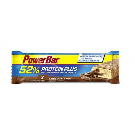POWERBAR PROTEINPLUS 52% CHOCOLATE 50GRS