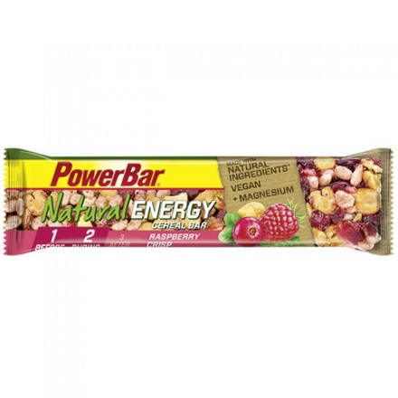POWERBAR NATURAL ENERGY RASPBERRY