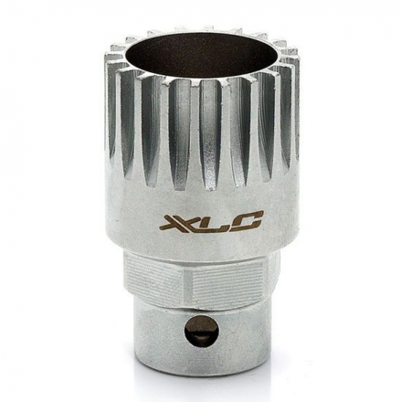 LLAVE EJE PEDALIER XLC TO-S05 SHIMANO&SIS 24MM O 1/2