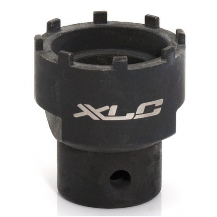 LLAVE EJE PEDALIER XLC TO-S04 ISIS/DRIVE 8 RANURAS