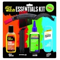 KIT CUIDADO BICICLETA DIRT WASH DRY