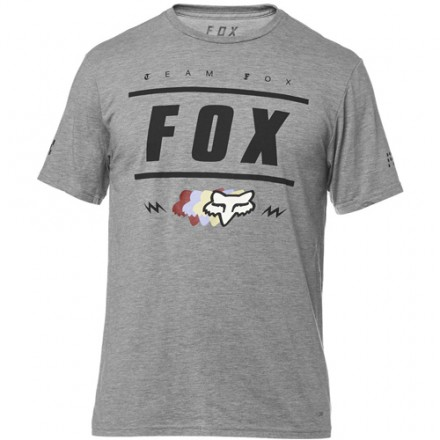 CAMISETA CASUAL FOX TEAM 74 GRIS