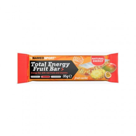 BARRITA NAMEDSPORT TOTAL ENERGY 35GR FRUIT CARIBE
