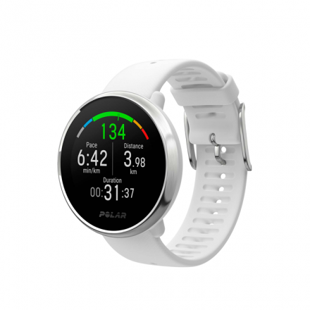 PULSOMETRO GPS POLAR IGNITE WHITE