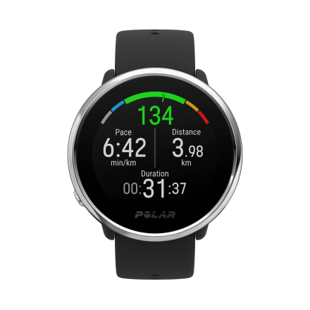 PULSOMETRO GPS POLAR IGNITE BLACK