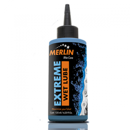 ACEITE LUBRICANTE MERLIN EXTREM WET LUBE 125ML