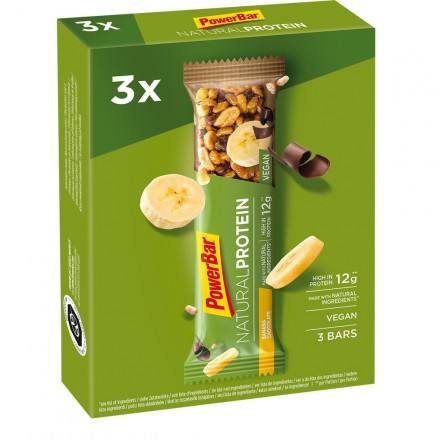 PACK POWERBAR NATURAL PROTEIN CHOCOLATE 40GR